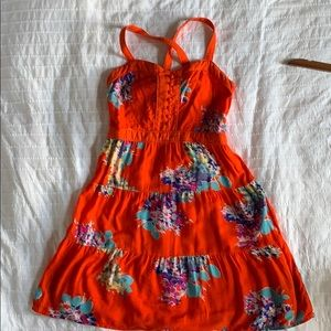 American Eagle flower dress